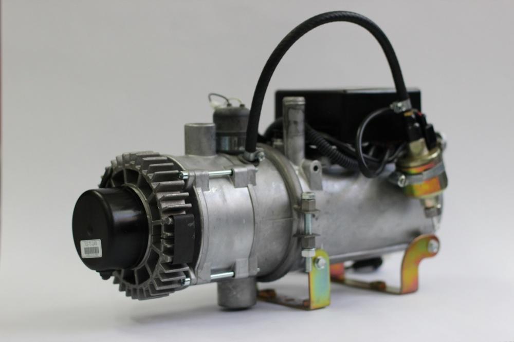 Подогреватель двигателя на газе